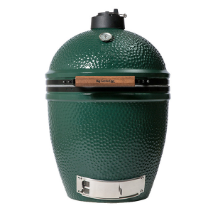 Large big green egg, check out our pool and grill products available at swimming pool company in Schererville.