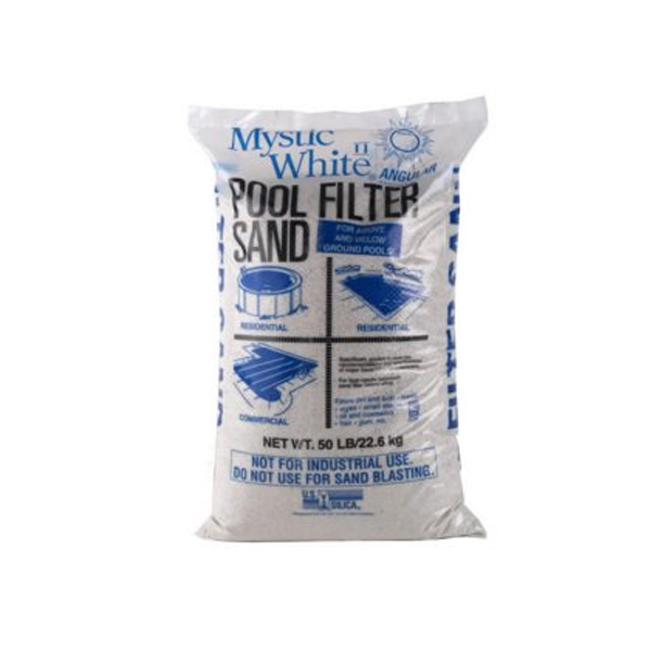 Pool filter sand option to purchase at swimming pool supply contractor Dyer.