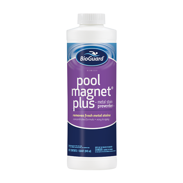 Pool magent plus option to purchase at pool supply company Schererville.