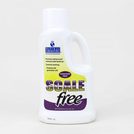 Natural Chemistry Scale Free 1 liter bottle when searching for good pool installation company Frankfort.