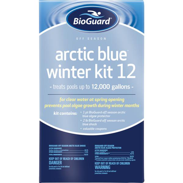Arctic Blue Winter closing kit, for good Schererville pool business that can does inground swimming pool closing.
