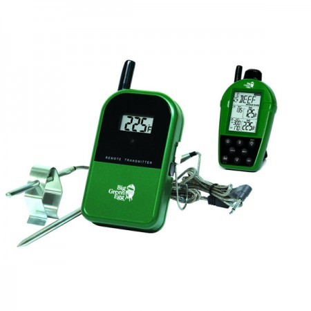 Dual probe wireless thermometer, check out our pool and grill products available at swimming pool company in NW Indiana.