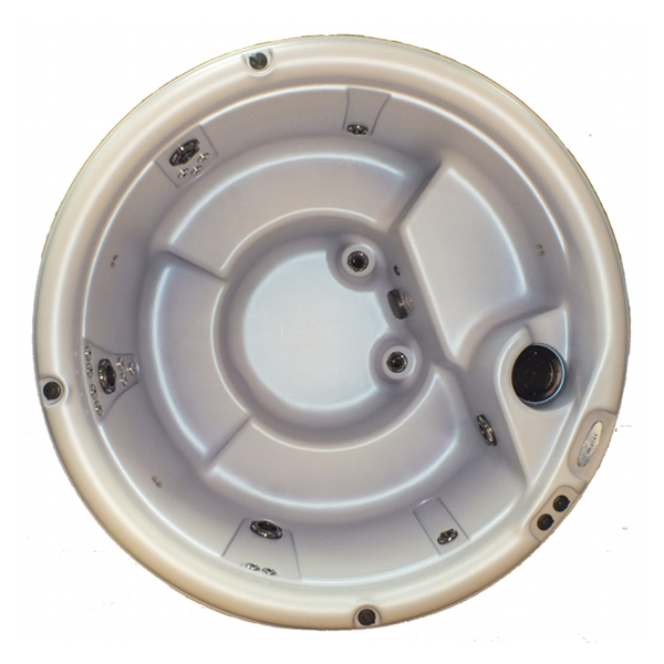 Looking down in round spa Nordic Warrior, that is an option when looking to buy hot tub Frankfort.