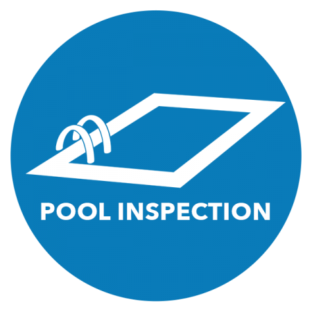 Graphic of pool inspection if looking for new pool construction St. John, contact our office.